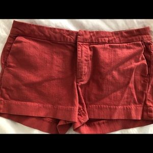 Paige salmon colored shorts